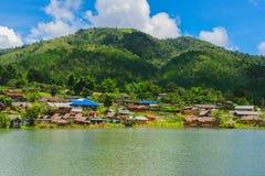 Villaggio tailandese di Ruk Immagini Stock Libere da Diritti