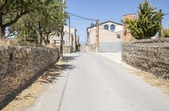 Villaggio Talavera, provincia di Pallerols di Lleida, Spagna Fotografia Stock