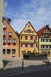 Villaggio tedesco Immagine Stock