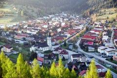 Villaggio Terchova, Slovacchia Fotografia Stock