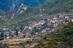 Villaggio tibetano Immagini Stock