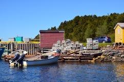 Villaggio tipico del pescatore Fotografia Stock Libera da Diritti