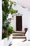 Villaggio tipico dello Spagnolo Fotografia Stock