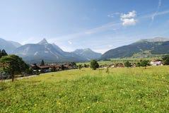 Villaggio in Tirol Immagini Stock