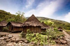 Villaggio tradizionale fotografie stock libere da diritti