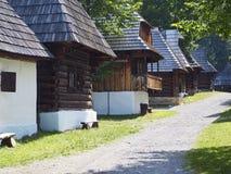 Villaggio tradizionale Fotografia Stock