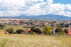 Villaggio tradizionale alla penisola di Halkidiki Immagine Stock