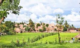 Villaggio tradizionale di Sade- Lombok vecchio Immagine Stock Libera da Diritti