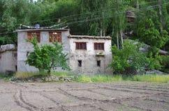 Villaggio tradizionale in Ladakh, India Fotografia Stock