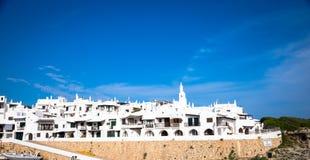 Villaggio tradizionale in Menorca, Spagna fotografia stock