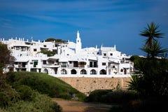 Villaggio tradizionale in Menorca, Spagna immagini stock libere da diritti