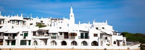 Villaggio tradizionale in Menorca, Spagna immagini stock