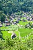 Villaggio tradizionale nel Giappone Fotografia Stock Libera da Diritti