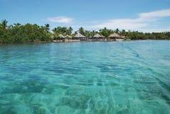 Villaggio tropicale dell'isola Fotografie Stock