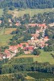 Villaggio ungherese Fotografie Stock
