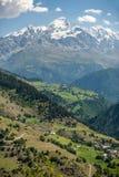 Villaggio Ushguli Georgia Fotografia Stock