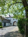 Villaggio vago in Germania Immagine Stock