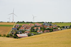 Villaggio verde Immagine Stock Libera da Diritti