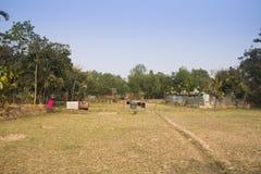 Villaggio vicino a Srimangal nel Bangladesh Immagini Stock