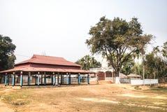 Villaggio vicino a Srimangal nel Bangladesh Fotografia Stock Libera da Diritti