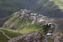 Villaggio Xinaliq all'Azerbaigian Immagine Stock