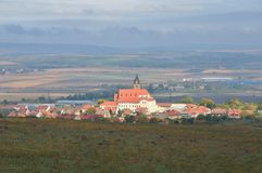 Villaggio Zajeci, repubblica Ceca Fotografie Stock Libere da Diritti