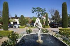 Villagio旅馆和温泉在Yountville 免版税库存图片