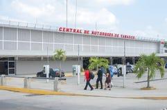 Villahermosa bus station Royalty Free Stock Image