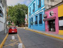Villahermosa VAN DE BINNENSTAD royalty-vrije stock afbeelding