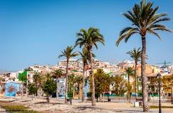 Villajoyosa town, Costa Blanca. Spain Royalty Free Stock Photo