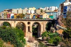 Villajoyosa town. Costa Blanca. Spain Royalty Free Stock Photo