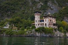 VillaLa Gaeta, Como sjö, Italien royaltyfri bild