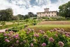 VillaLa Petraia, en gång uppehåll av den Medici familjen royaltyfri bild