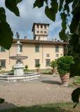 VillaLa Petraia, en gång uppehåll av den Medici familjen royaltyfri foto