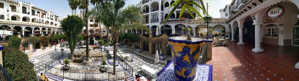 Villamartin Plaza, Spain Royalty Free Stock Photography