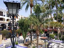 Villamartin Plaza, Spain Royalty Free Stock Photo