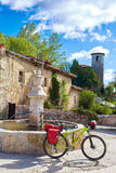 Villambistia in Saint James Way by Castilla Royalty Free Stock Photography