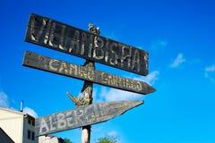 Villambistia in Saint James Way by Castilla Stock Photo