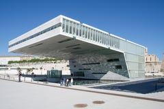 VillaMediterranee byggnad i Marseille, Frankrike royaltyfri foto
