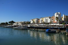 Villamoura-Jachthafen in Algarve Lizenzfreie Stockfotografie
