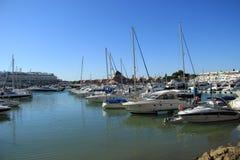 Villamourajachthaven in Algarve Stock Afbeeldingen