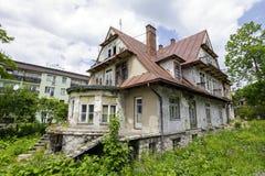 Villan kallade Maryska i Zakopane Royaltyfria Foton