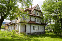 Villan kallade Maryska i Zakopane, Polen Royaltyfria Foton