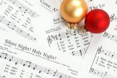 Villancico de la Navidad Imagen de archivo