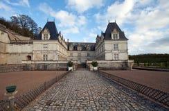 Villandry. Castle of Villandry in Loire, France Stock Images