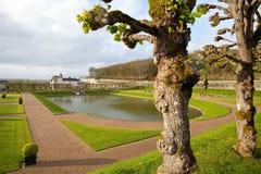 Villandry. Castle of Villandry in Loire, France Royalty Free Stock Image