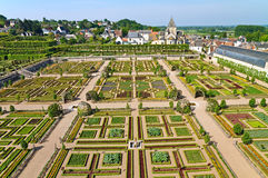 Villandry Immagine Stock