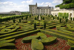 Villandry castle Stock Photo