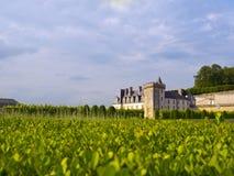 Villandry Castle Stock Photo