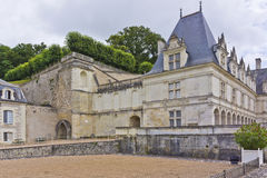 Villandry Castle (Chateau) and gardens. Royalty Free Stock Images